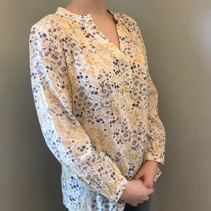 Old Navy Floral Tunic Top XS
